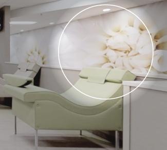 Plasma center showing alternative to paint.