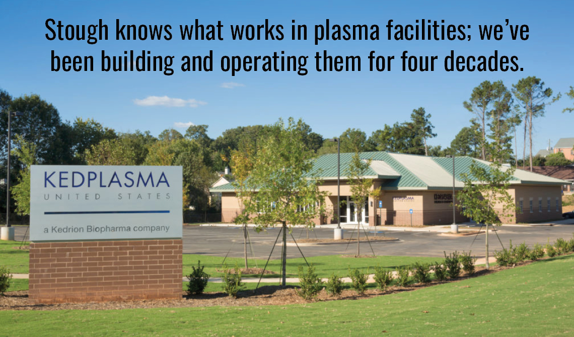 Stough knows what works in plasma facilities; we've been building and operating them for four decades.